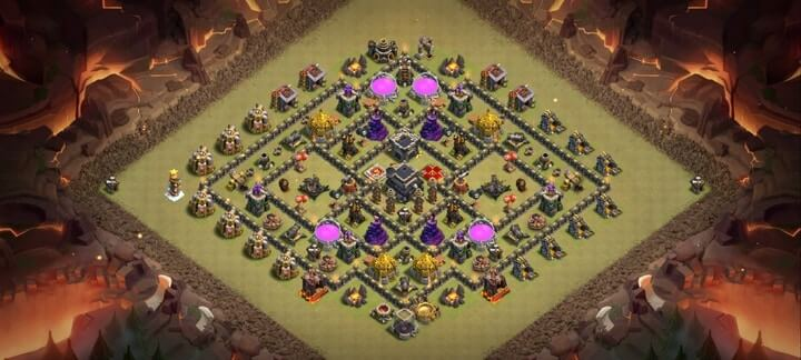 TH9 War Base 6