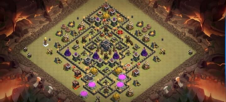 TH9 War Base 7