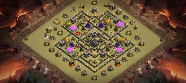 TH9 War Base 8