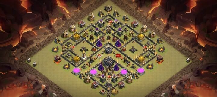 TH9 War Base