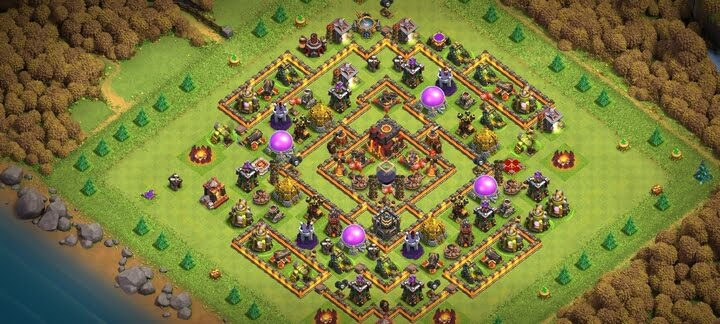 Best TH10 Base 2020 Anti 2 Stars
