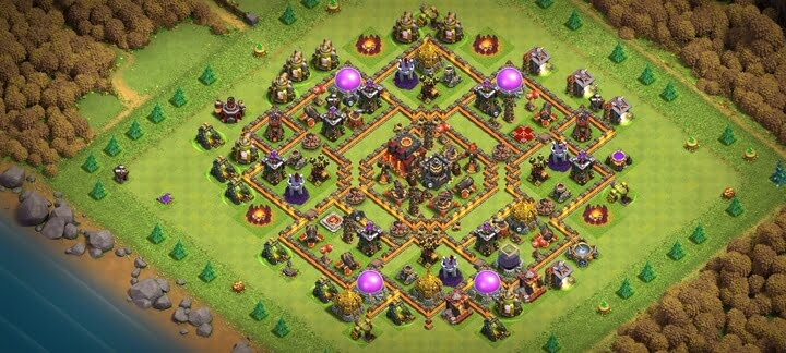 Best TH10 Base 2020 Anti 2 Stars 3