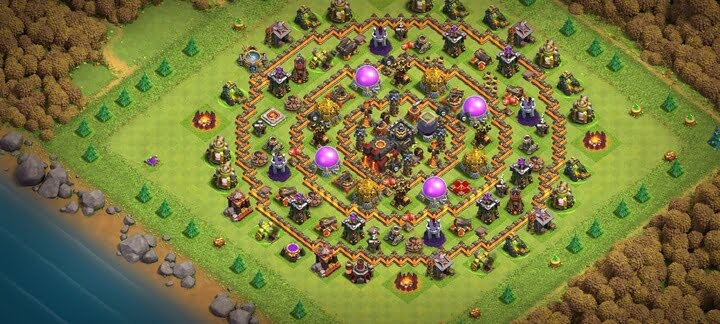 Best TH10 Base 2020 Anti 2 Stars 2