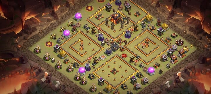 Clash of clans TH10 base layout