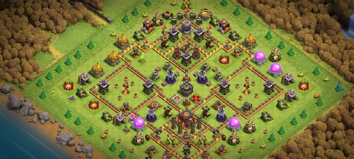 Clash of Clans Th10 Base Layouts |