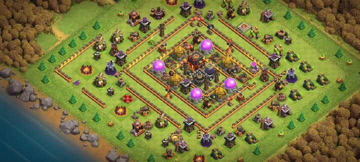 Clash of Clans Th10 Base Layouts 2