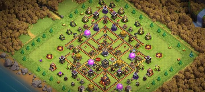 Best TH10 Farming Base 3