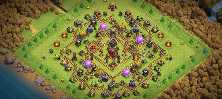 Best TH10 Farming Base