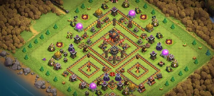 Best TH10 War Base Design 2