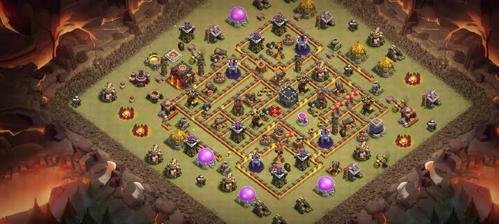 Best TH10 War Base Design