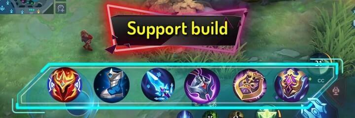 Best Builds for Mathilda Suport build
