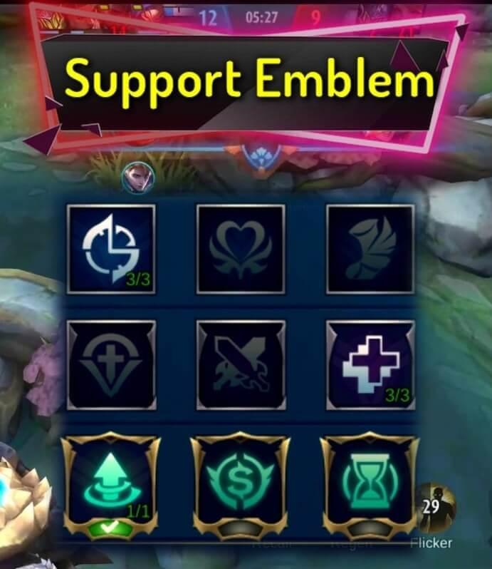 Best Emblem Configuration for Mathilda support emblem