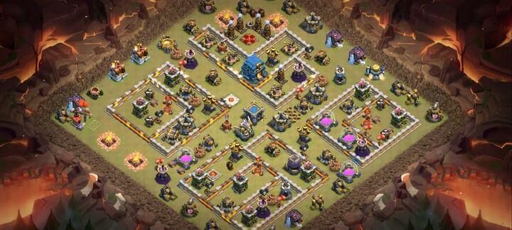 Best TH12 War Base Links 15