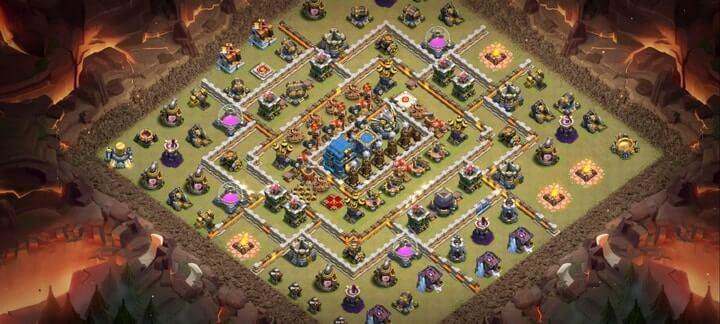 Best TH12 War Base Links 16