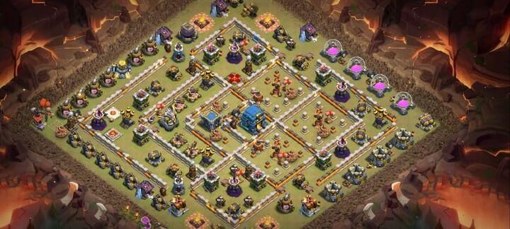 Best TH12 War Base Links 4