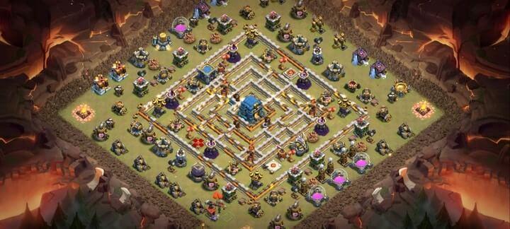 Best TH12 War Base Links 6