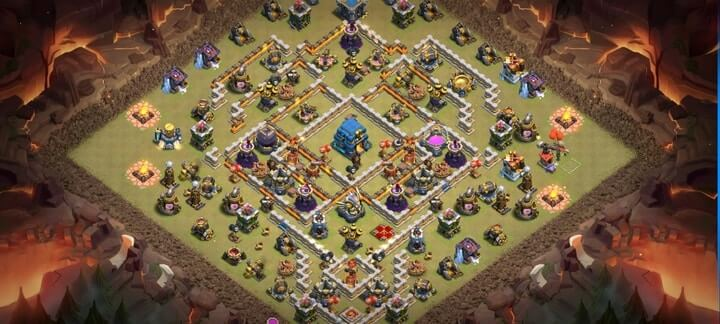 Best TH12 War Base Links 7