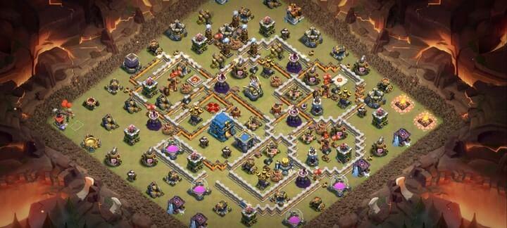 Best TH12 War Base Links 8