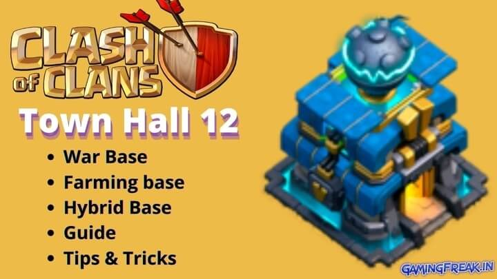 COC Best Th12 War Base 2020