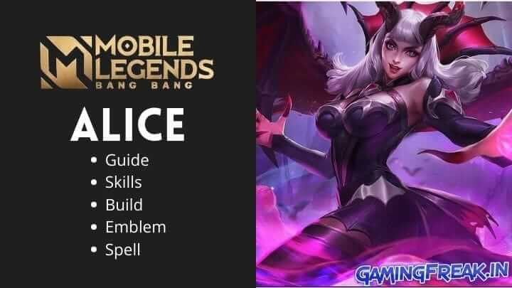 Mobile Legends Alice Guide 2021 | Alice Best Build 2021 | Alice Pros and Cons