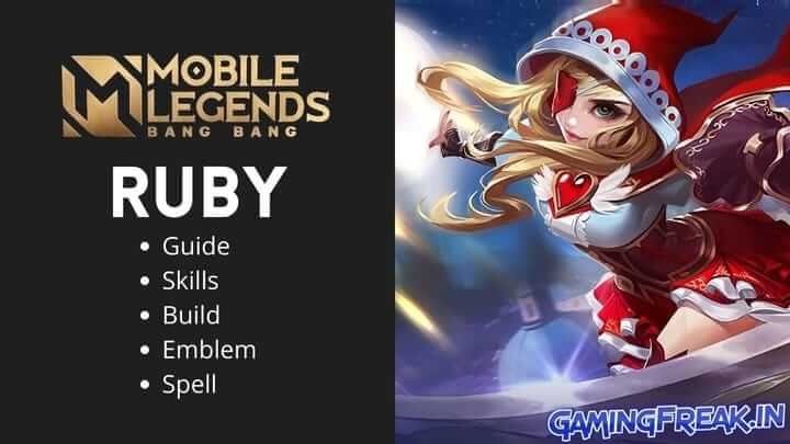 Mobile Legends Ruby Guide 2021 | Ruby Best Build 2021 | Ruby Pros and Cons