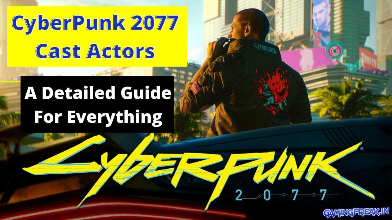 cyberpunk 2077 cast details