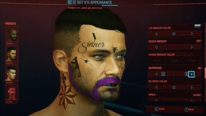 cyberpunk-2077-male Body