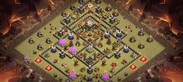 th11 war base 11