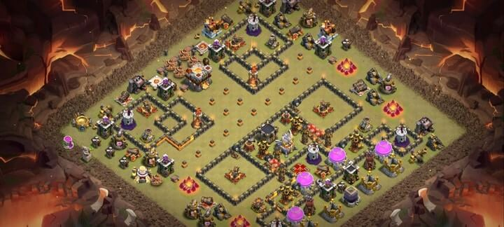 th11 war base 12