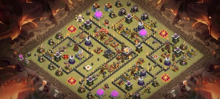 th11 war base 14