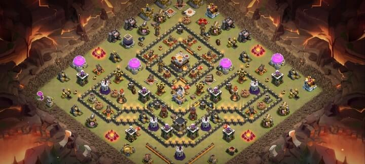 th11 war base 16