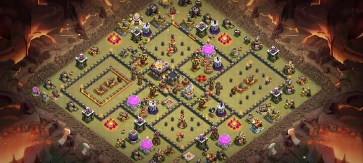 th11 war base 17