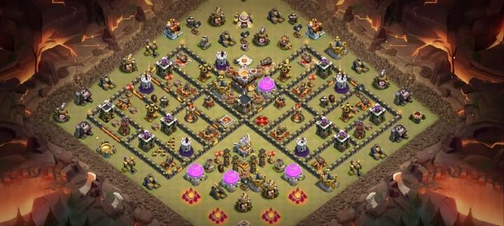 th11 war base 9