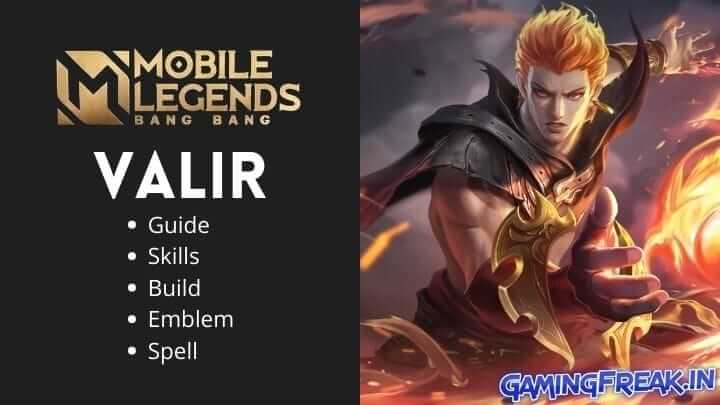 Mobile Legends Valir