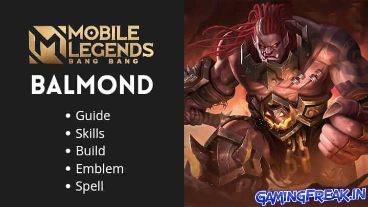 Mobile Legends Balmond Guide 2021 | Balmond Best Build 2021