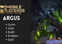 Mobile Legends Argus Revamp Guide   Argus Best Build 2021