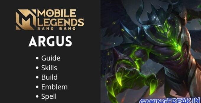 Mobile Legends Argus Revamp Guide | Argus Best Build 2021