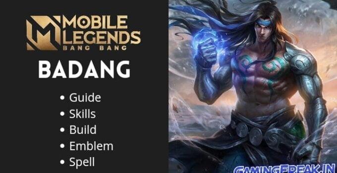 Mobile Legends Badang Guide 2021 | Badang Best Build 2021