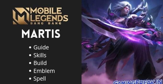 Mobile Legends Martis Guide 2021 | Martis Best Build 2021
