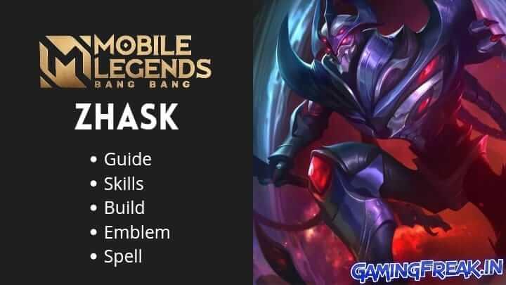 Mobile Legends Zhask