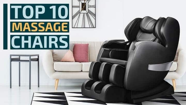 10 Best Massage Chairs Reviews & Buying Guide 2021
