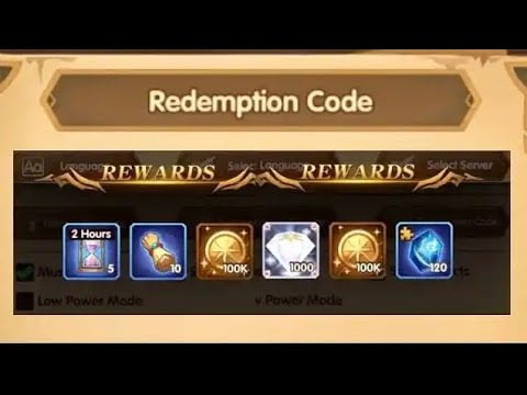 afk arena codes