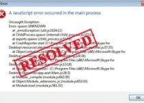 how to fix discord javascript error