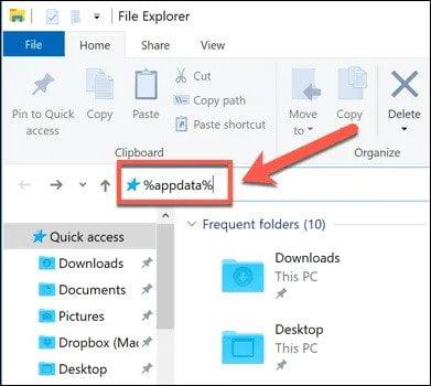 Delete and Regenerate Discord Appdata