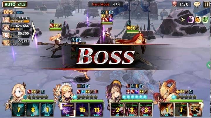 King's Raid PVE