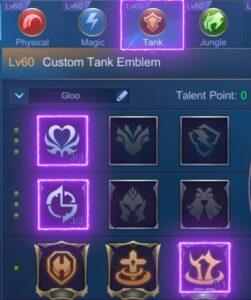 Tank Emblem concussive blast