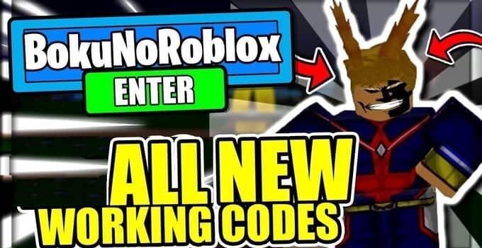 Boku No Roblox Codes May 2021 | Boku No Roblox: Remastered Codes 2021