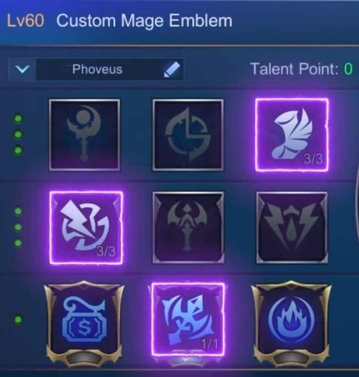 Phoveus emblem magic worship