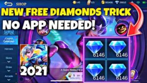 100% Working Tricks Free Diamond ML 2021 Legit