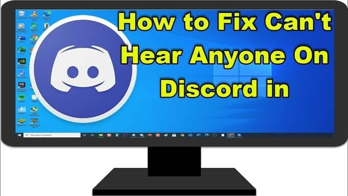 How To Fix Discord can't Hear Anyone Best Guide 2021